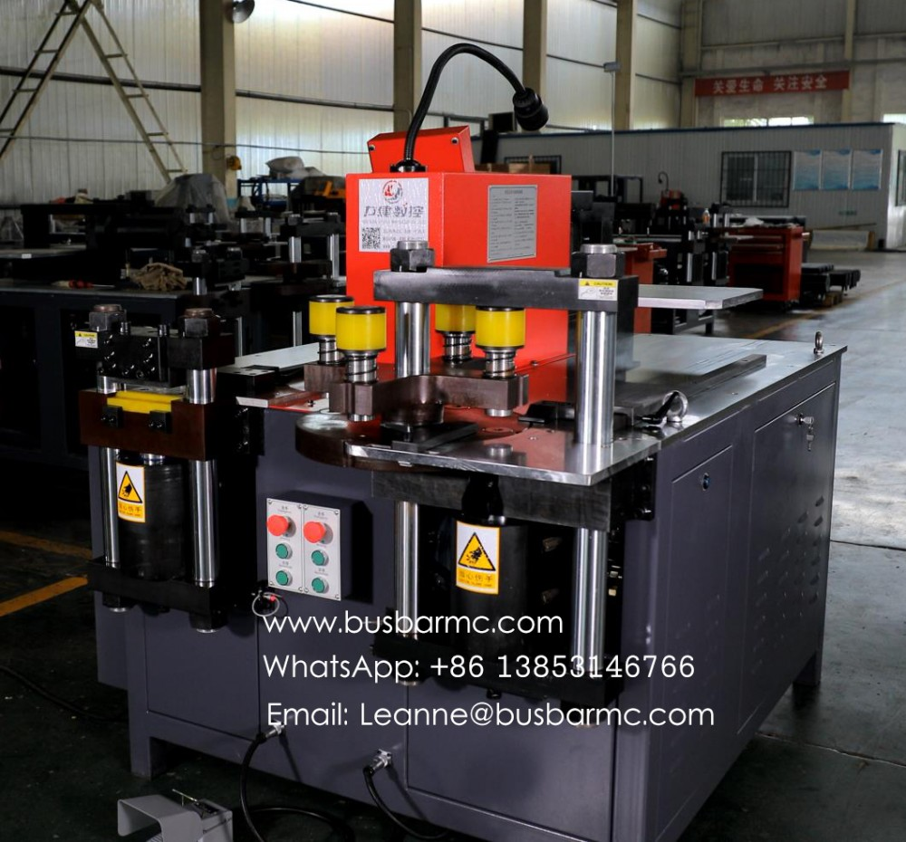 copper busbar machine