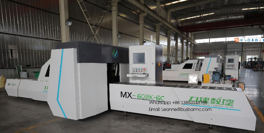 CNC punching cutting machine for copper busbar