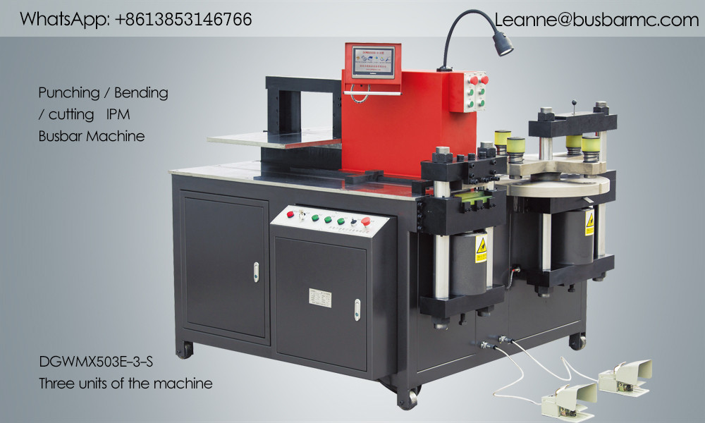 503E-3-S Busbar Copper Punching Bending Machine