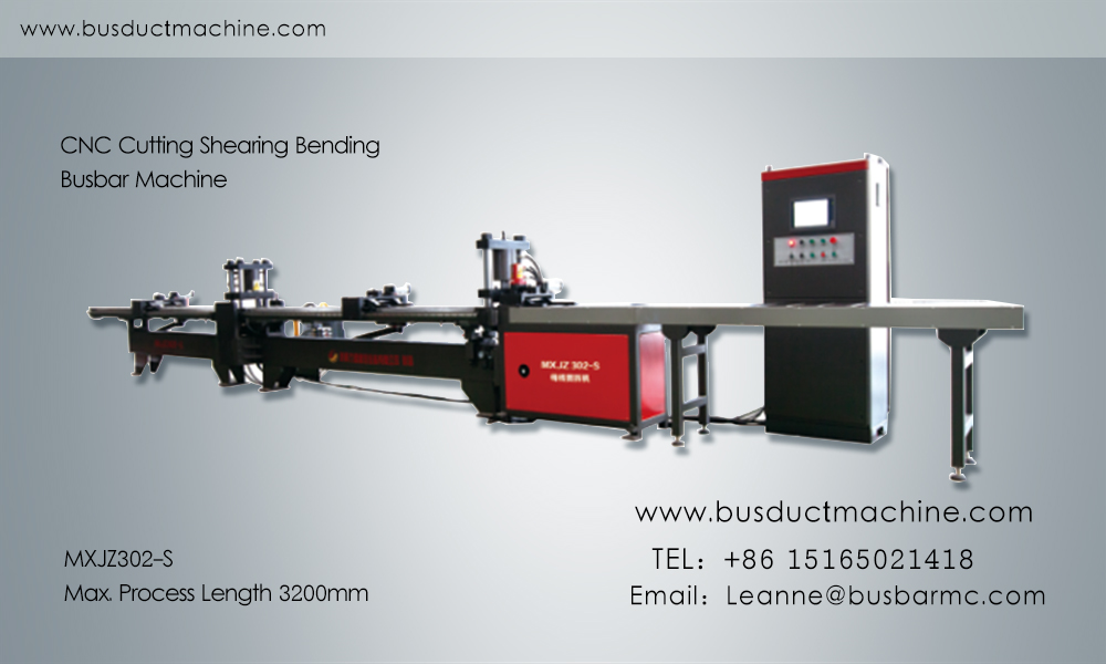 busbar bending busbar processing machine
