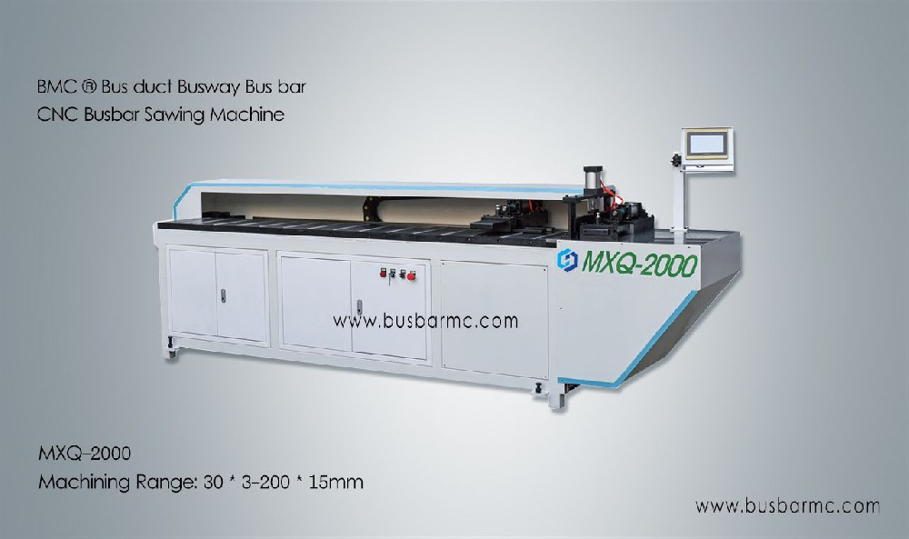 CNC busbar copper bus bar sawing machine busbar cutting machine